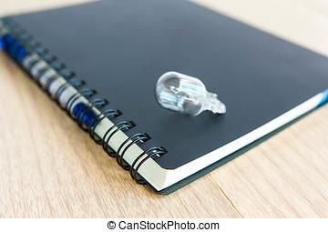 business, education, objets, et, technologie, concept