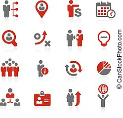 Business Efficiency // Redico Serie - Vector icons for your...