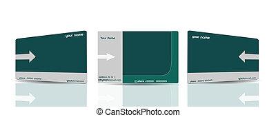 Business Elegant Cards Set