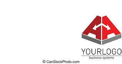 logo - Business, elegant logo vector