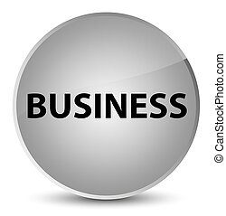 Business elegant white round button