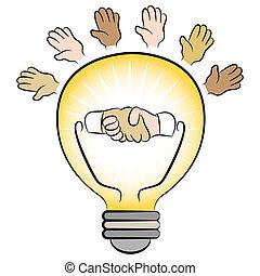 Business Energy Lightbulb