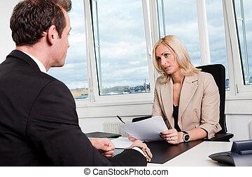 business, entrevue