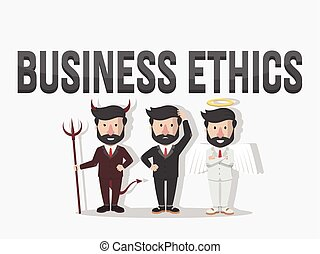 business ethics illustration  illustration design
