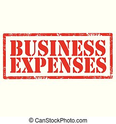Business Expenses-stamp