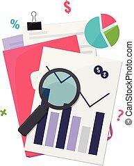 Business finance analyst concept.