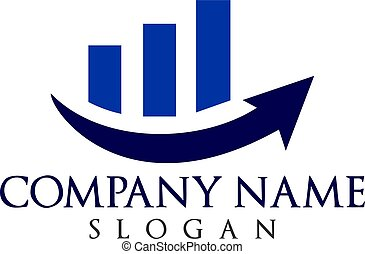 Business finance logo.