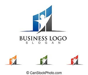 Business Finance logo template