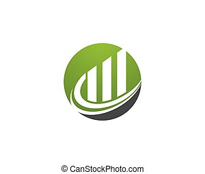 Business Finance professional logo template