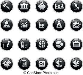 Business & Finance  - Vector buttons.