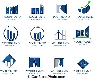Business Financial Logo collection