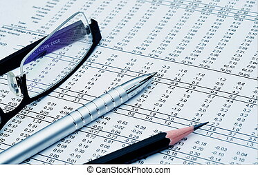 business & financial report