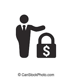 Business Financial Security Icon