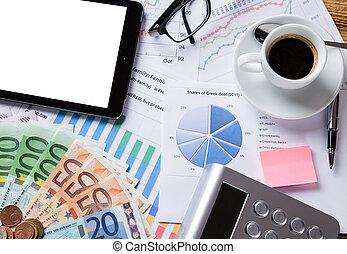business, financier, concept.
