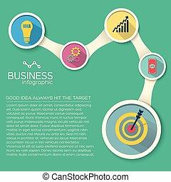 Business Flat Infographics