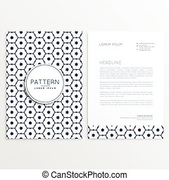 Vertical flyer template with mandala pattern vector eps vector business flyer letterhead template with pattern design spiritdancerdesigns Choice Image