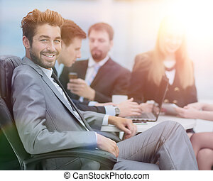 business, fonctionnement, gens., projet, leur, équipe