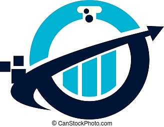Business Formula Logo Design Template Vector