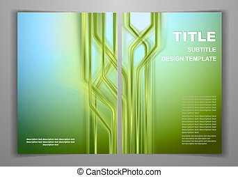 Business Front and Back Flyer Templ - Green Business Front...