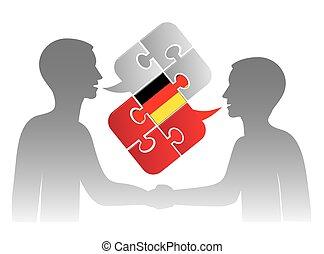 Business German dialog