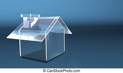 business glass house HD