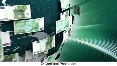 business, global, euro