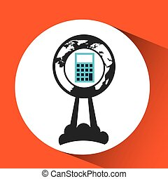 business global start up account icon