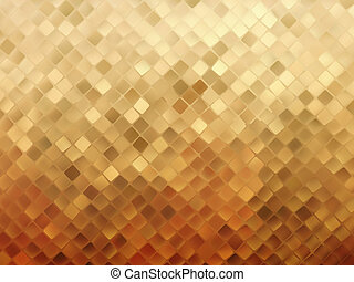 Business gold mosaic background. EPS 8 vector file included
