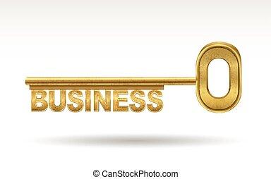 business - golden key