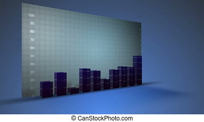 business graph financial data growth