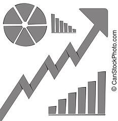 Business Graph Growth Progress