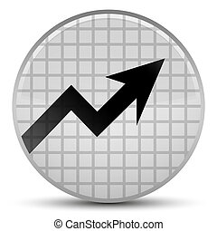 Business graph icon special white round button