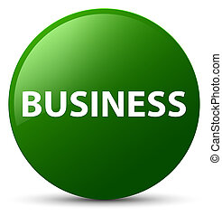 Business green round button