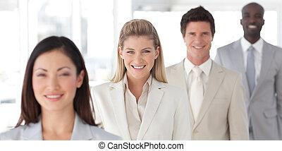 Multi - Ethnic international business groups