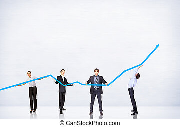 Business Growth And Success Graph