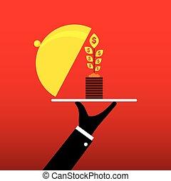 business growth concept design