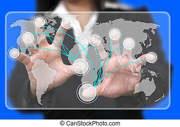 Virtual Touchscreen Interface