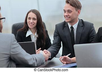 business handshake business partners