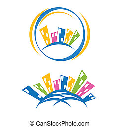 business house icon design