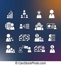 Business Human icons