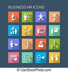 Business human resources icon