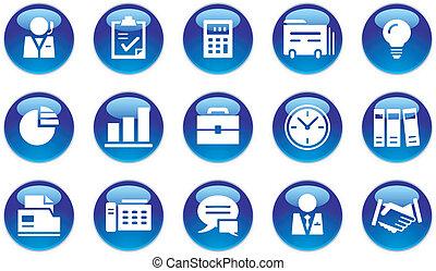 banque ensemble icones affaires ensemble business. Black Bedroom Furniture Sets. Home Design Ideas