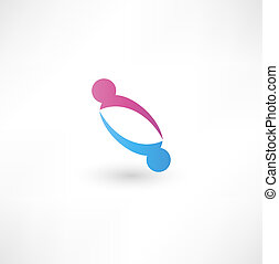 Business icon. Handshake.