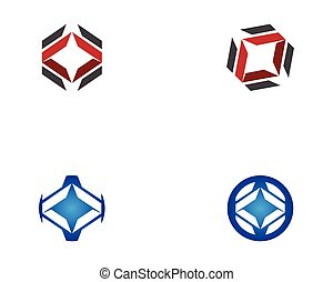 Business icon logo design