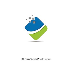 Business icon professional logo
