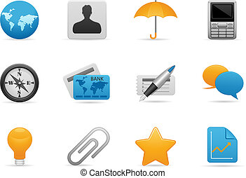 Business Icon set - Business