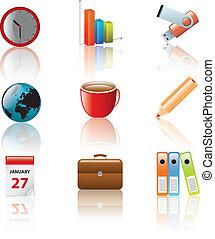 business icon set