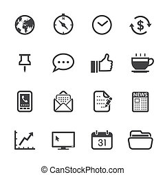 Business Icons and Office Icons