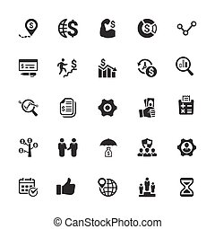 Business Icons - Gray Series (Set 1)