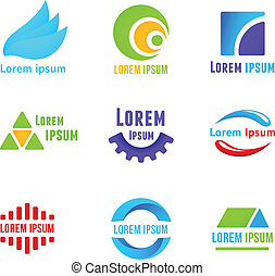 Business icons templates